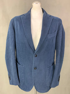 "L.B.M. 1911 Mens Blue Cotton SPORTS JACKET / Blazer Size IT 52 - 42"" Chest XL Extra Large"