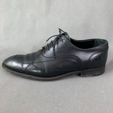 Load image into Gallery viewer, LOUIS VUITTON Mens Black Leather Derby Lace-Up Shoes - Size EU 41 - UK 7