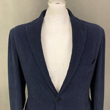 "Load image into Gallery viewer, JOSEPH HOMME Mens Navy Cotton BLAZER / SPORTS JACKET - Size IT 48 / UK 38"" Chest - XL"