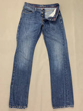 "Load image into Gallery viewer, TOMMY HILFIGER Mens MERCER Blue Denim Straight Leg JEANS Size Waist 32"" Leg 33"""