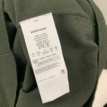 Load image into Gallery viewer, ARMANI JEANS Mens Green Wool Blend JUMPER Size XL Extra Large