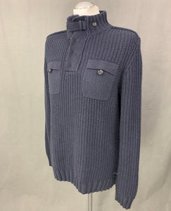 TED BAKER Mens GONMONT Chunky Knit JUMPER Ted Size 4 - Large L