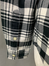Load image into Gallery viewer, POLO RALPH LAUREN Ladies Black Check Pattern Flannel Shirt - Size Small S