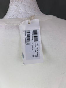 New CHLOÉ Ladies Ivory & White Top Size IT 40 - UK 8 - See by Chloe BNWT