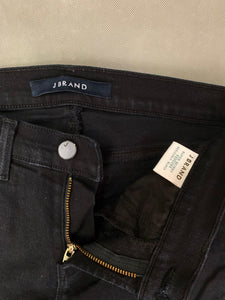 "J BRAND Ladies Seriously Black SUPER SKINNY JEANS Size Waist 26"" JBRAND"