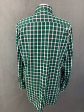 Load image into Gallery viewer, TOMMY HILFIGER Mens Green Checked SHIRT - Size M Medium