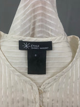 Load image into Gallery viewer, ISABEL MARANT ÉTOILE Ivory TOP  Size 0 - FR 34 - UK 6