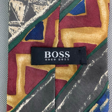 Load image into Gallery viewer, HUGO BOSS Mens Vintage Patterned TIE - Made in Italy