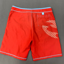 Load image into Gallery viewer, BILLABONG Ladies Red BOARD SHORTS / SWIM SHORTS Size UK 10