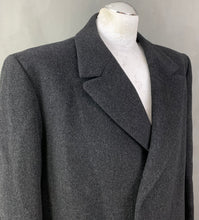 Load image into Gallery viewer, CROMBIE for John Lewis Mens 100% Wool COAT Size 46R Chest 46""