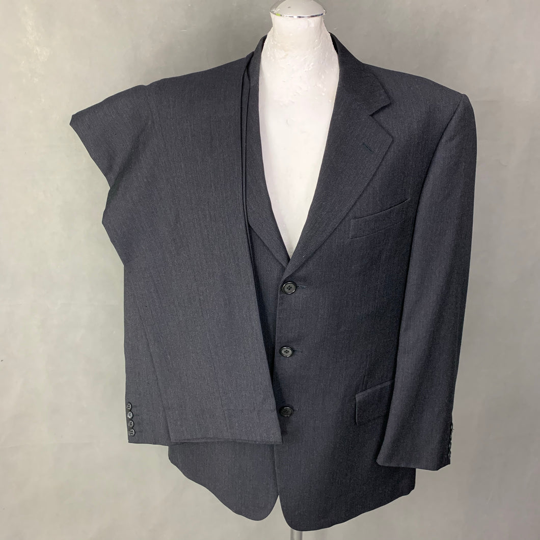 VALENTINO Mens Grey Wool 2 PIECE SUIT Size 41