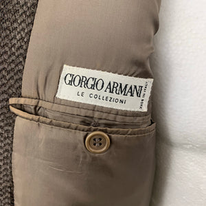 "Vintage GIORGIO ARMANI Mens Wool Blend BLAZER / JACKET Size 40R - 40"" Chest"
