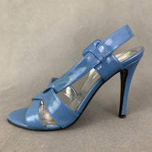 Load image into Gallery viewer, STELLA McCARTNEY Blue Strappy High Heel Sandals Size 36 - UK 3