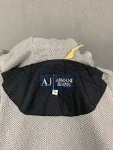 Load image into Gallery viewer, ARMANI JEANS Mens Black JACKET / COAT Size Small - S