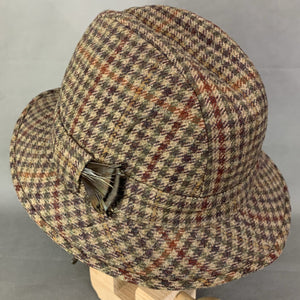 CHRISTYS' TWEED TRILBY HAT Size 57 - Large - L