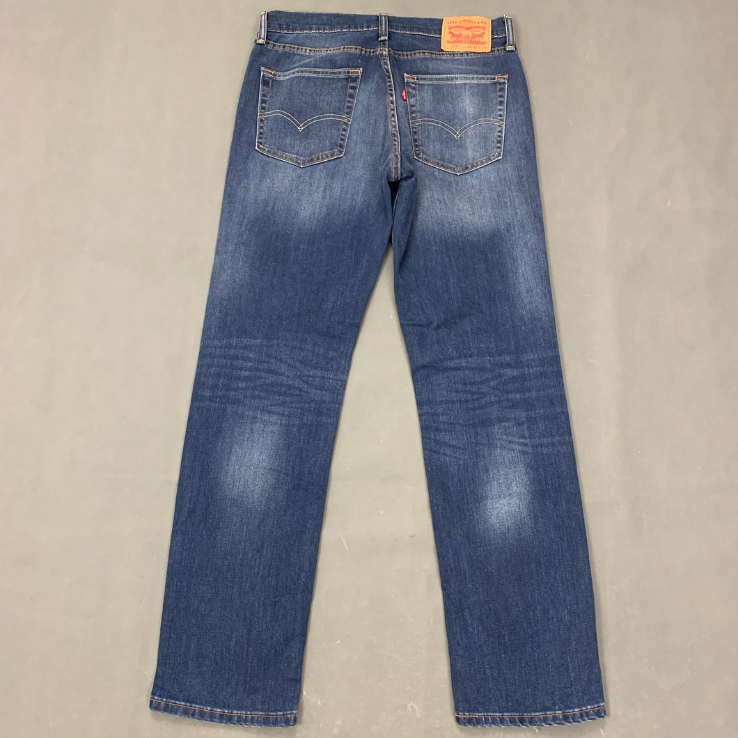 LEVI STRAUSS &Co Mens LEVI'S Blue Denim 514 JEANS Size Waist 31