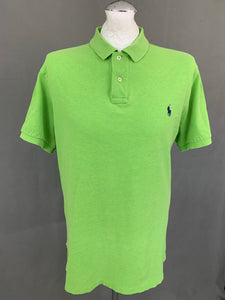 POLO RALPH LAUREN Mens Green POLO SHIRT Size XL Extra Large