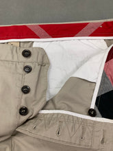 "Load image into Gallery viewer, BURBERRY BRIT Mens Beige Cotton CHINOS / TROUSERS Size Waist 40"" - Leg 30"""