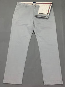 "GANT Mens Light Blue Regular Fit Chinos / TROUSERS Size Waist 38"" - Leg 32"""