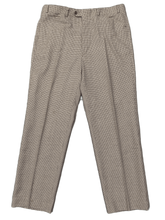 "Load image into Gallery viewer, AQUASCUTUM Mens VICUNA CLUB CHECK Tapered Leg TROUSERS Waist 36"" - Leg 29"""