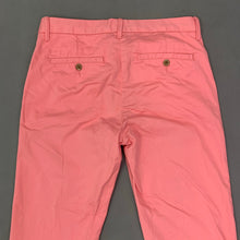 Load image into Gallery viewer, GANT Ladies Pink Regular Fit Cropped Trousers Size UK 12 - US 8