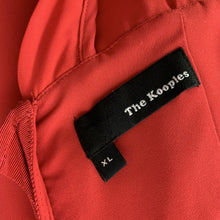 Load image into Gallery viewer, THE KOOPLES Ladies Structured Red DRESS Size XL - Extra Large