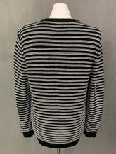 Load image into Gallery viewer, THE KOOPLES Mens Striped MERINO WOOL JUMPER Size M Medium