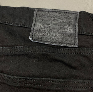 "LEVI STRAUSS & Co Mens Black Denim LEVI'S 541 JEANS Size Waist 32"" Leg 31"" LEVIS"