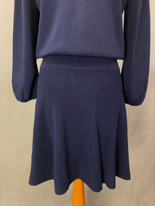 New CLAUDIE PIERLOT Paris MOONLIGHT CREPE DRESS - Size FR 2 - UK 10 - RRP £209 BNWoT