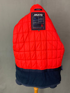 MUSTO Ladies Ocean Outfitters Navy Blue Quilted COAT - Size Medium M