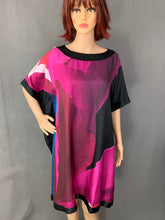 Load image into Gallery viewer, New TED BAKER Mulberry Silk COLETT Square DRESS Ted Size 1 - UK 8 XS BNWT