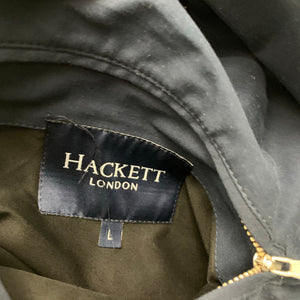 HACKETT Mens Reversible Beige & Blue JACKET / COAT - Size LARGE L