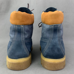 TIMBERLAND Blue BOOTS Size UK 10 - US 11 W