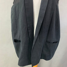 Load image into Gallery viewer, ALLSAINTS Ladies Black ESTELL SLEEVELESS BLAZER Size UK 8 - EU 36 - US 4