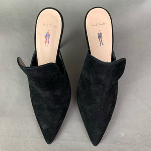 PAUL SMITH Ladies Black Azzura High Heels - Size 38 - UK 5