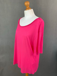 ACNE Ladies Pink WONDER Silk Blend TOP - Size Small - S
