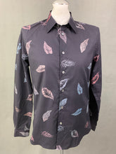 Load image into Gallery viewer, PS PAUL SMITH Mens Leaf Pattern SHIRT - Size Medium M