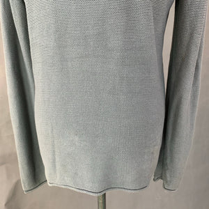 ARMANI JEANS Mens Grey JUMPER - Size Medium M