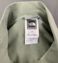 Load image into Gallery viewer, THE NORTH FACE Ladies TKA100 Green FLEECE TOP - Size L LARGE