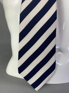 CHRISTIAN DIOR MONSIEUR Mens 100% Silk Striped TIE - Made in England
