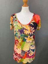 Load image into Gallery viewer, DESIGUAL Ladies Colourful TOP Size M Medium