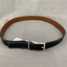 "Load image into Gallery viewer, New TED BAKER London BREAM Black Leather BELT - Size 38"" Waist"