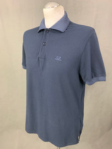 C.P. COMPANY Mens Blue POLO SHIRT - Size L LARGE - CP