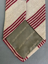 Load image into Gallery viewer, GIORGIO ARMANI CRAVATTE Mens 100% LINEN TIE - Made in Italy