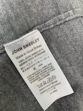 Load image into Gallery viewer, JOHN SMEDLEY Mens Grey Extrafine MERINO WOOL Roll Neck JUMPER Size XXL 2XL