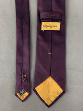 Load image into Gallery viewer, YVES SAINT LAURENT Mens 100% Silk TIE - YSL - Made in Italy