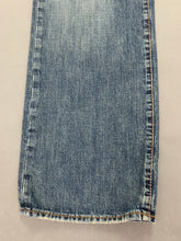 "Load image into Gallery viewer, HUGO BOSS Mens HB1 Blue Denim Tapered Leg JEANS Size Waist 34"" - Leg 33"""