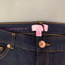 "Load image into Gallery viewer, New TED BAKER Ladies Blue Denim KLEEO JEANS Size Waist 32"" - Leg 34"""