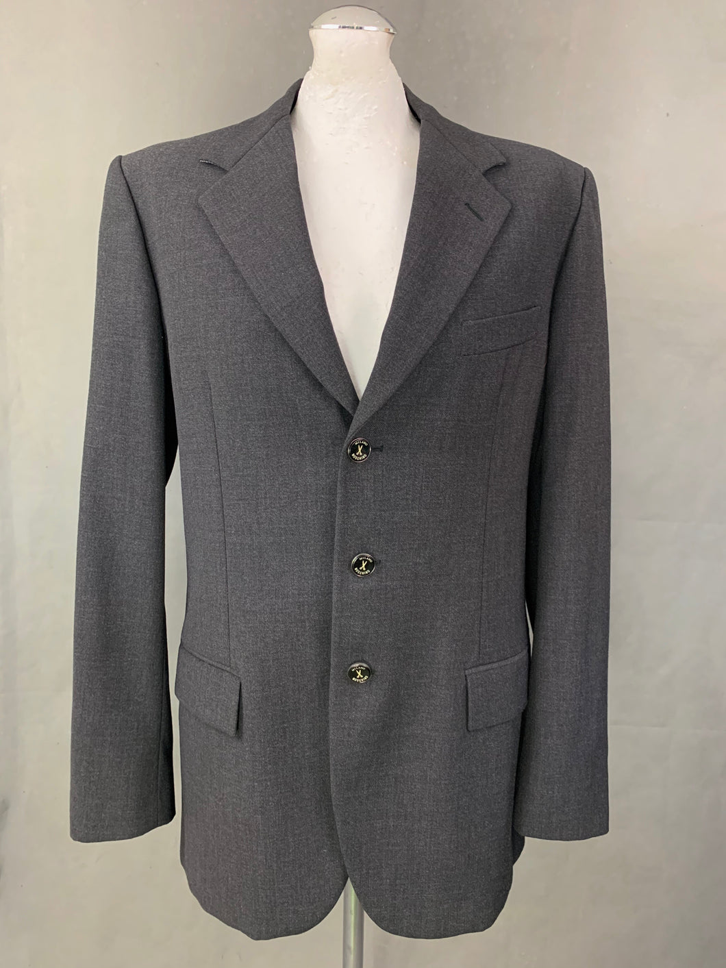 MOSCHINO CHEAP and CHIC Mens Grey BLAZER / JACKET Size IT 52 - UK 42