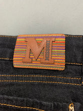 "Load image into Gallery viewer, New MISSONI Ladies Dark Blue Denim JEANS Size Waist 28"" - Leg 31"" BNWT"